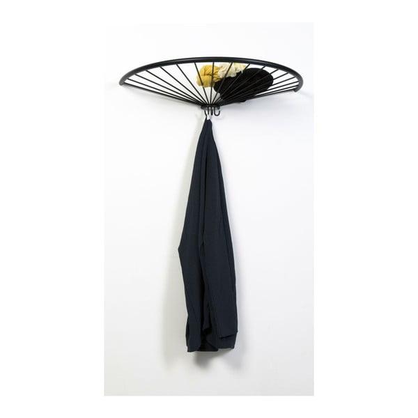 Nástěnný věšák Pinna Hat, černý