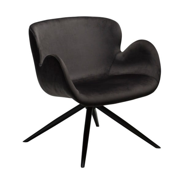 Czarny fotel DAN-FORM Denmark Gaia