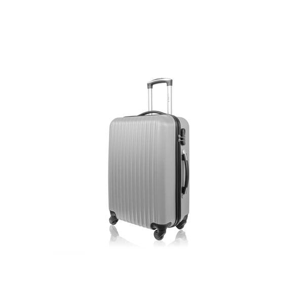 Sada 3 kufrů Brand Developpement Roues Cadenas Silver, 105 l/72 l/40 l