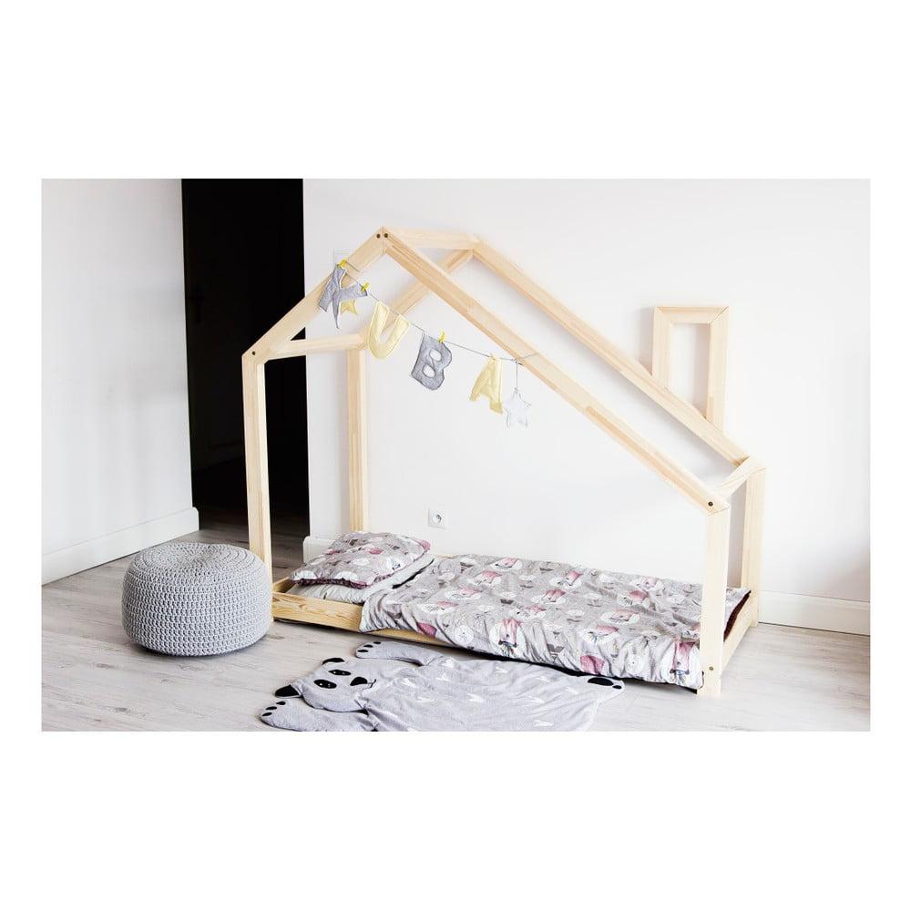 Dětská postel z borovicového dřeva Benlemi Deny, 80 x 190 cm