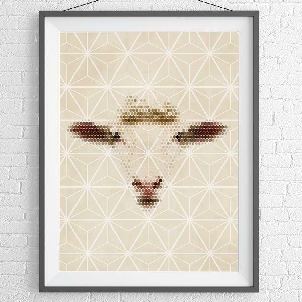 Plakát Lady Sheep, A3