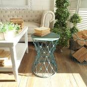 Odkládací stolek Neapol Turquoise