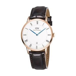 Dámské hodinky s černým páskem Daniel Wellington Sheffield, ⌀34mm