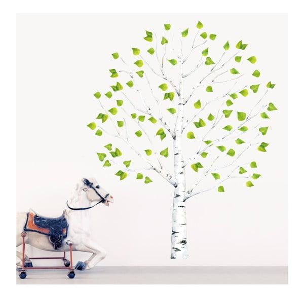 Znovu snímatelná samolepka Birch Tree, 130x200 cm