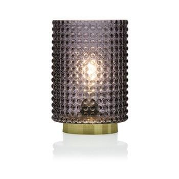 Veioză cu LED Versa Relax, ⌀ 12 cm, gri de la Versa