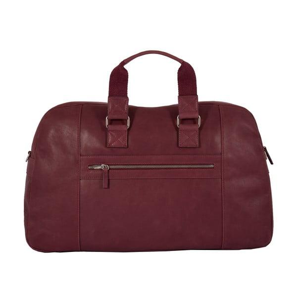 Pánská cestovní taška Vintage Overnight Bordeaux