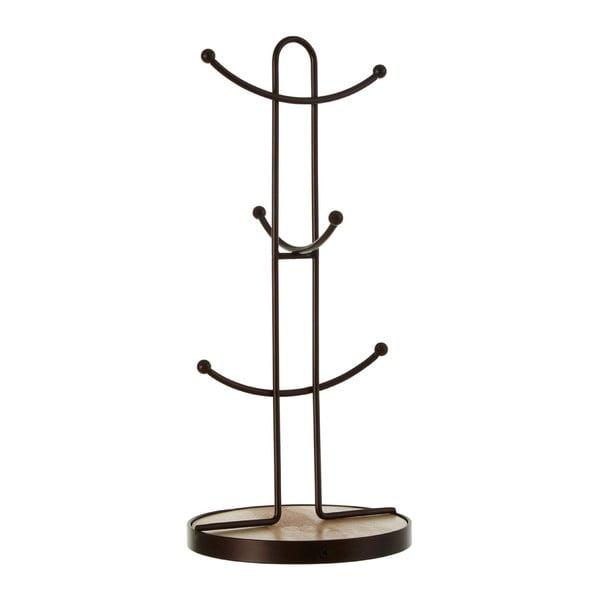 Železný držiak bronzovej farby na 6 hrnčekov Premier Housewares, výška 34 cm