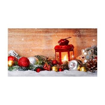 Traversă de masă Crido Consulting Winter Wonderland, lungime 100 cm