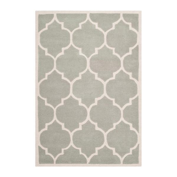 Ručně vyšívaný koberec Safavieh Morton Light, 243 x 152 cm