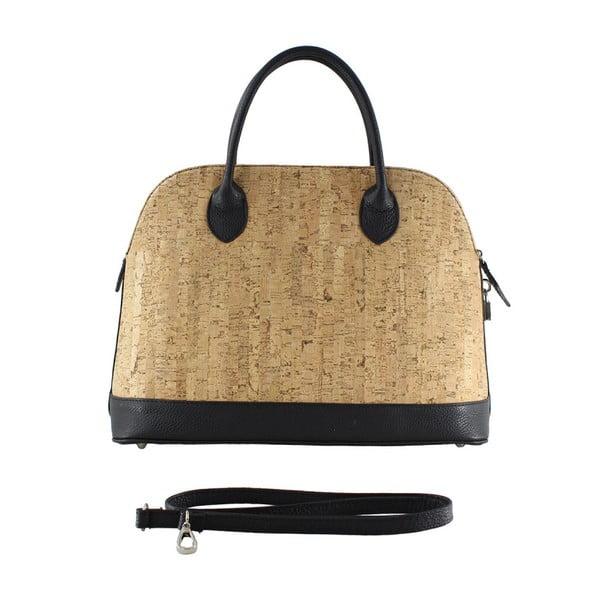Černá kožená taška Kim