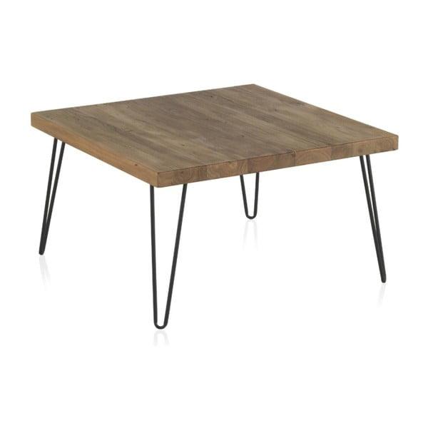 Konferenční stolek s deskou z jilmového dřeva Geese Rea, výška 40cm
