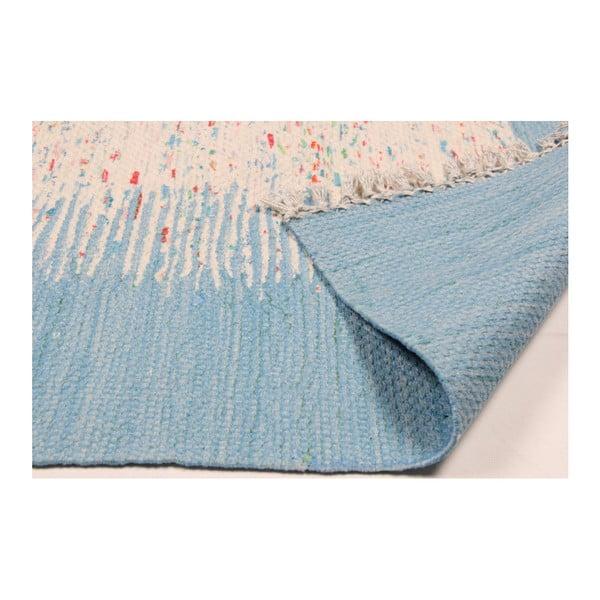 Světle modrý koberec Eco Rugs Akvile, 120x180cm