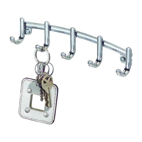 Cuier metalic pentru chei iDesign York Lyra, 23x14cm