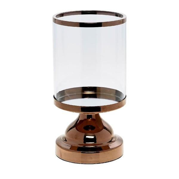 Svícen Trophy Copper, 13x13x24 cm