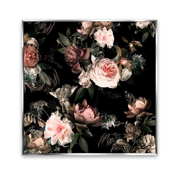 Obraz na płótnie Styler Copper Flowers, 67x67 cm