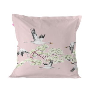 Bavlněný povlak na polštář Happy Friday Cushion Cover Cranes,60x60cm