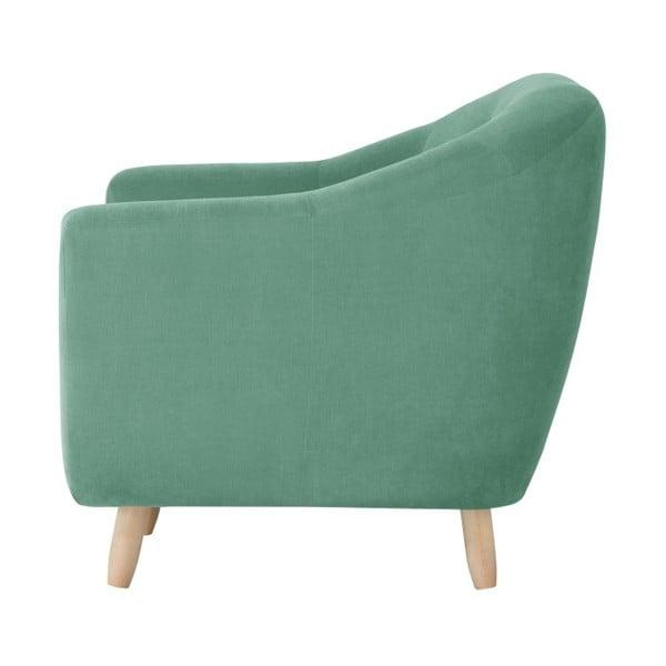 Mentolově zelená trojmístná pohovka Jalouse Maison Vicky