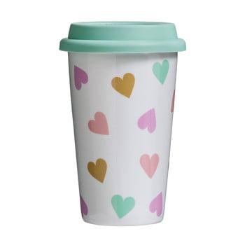 Cană de voiaj Premier Housewares Confetti, 330 ml imagine
