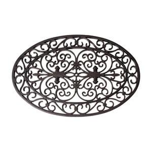 Gumová oválná rohožka Esschert Design Ornamental