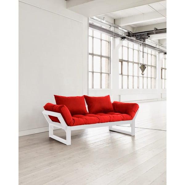 Pohovka Karup Edge White/Red