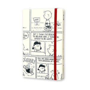 Týdenní diář Moleskine Peanuts, 13x21 cm