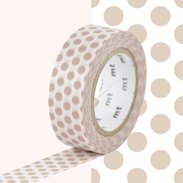Bandă decorativă Washi MT Masking Tape Audrey, rolă 10 m