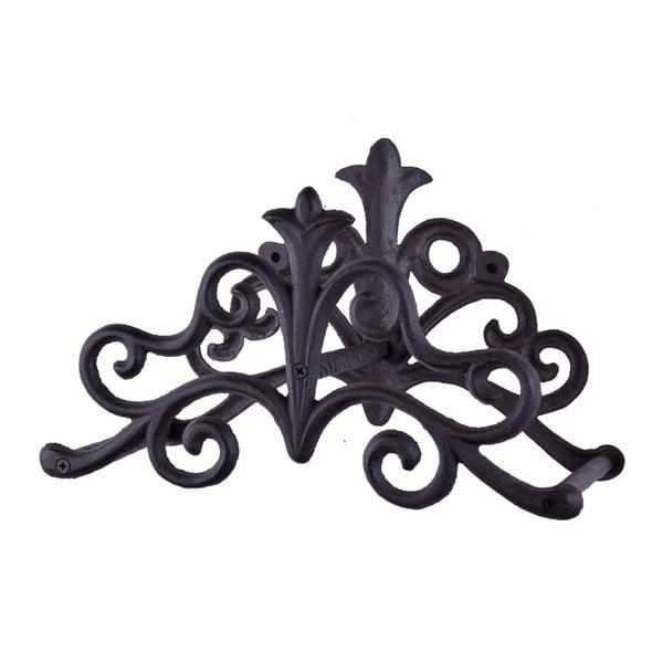 Černý litinový závěsný držák na hadici Esschert Design