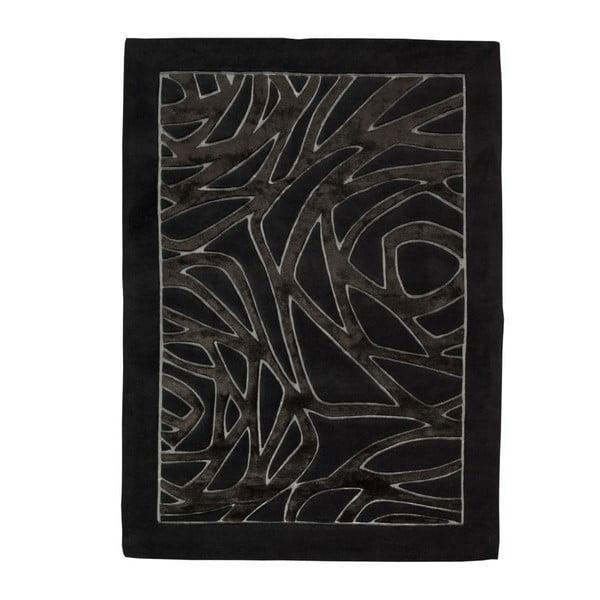Koberec Thea Black, 140x200 cm