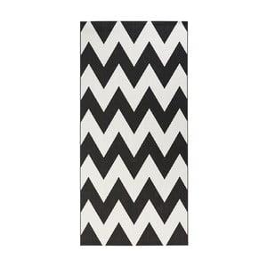 Černobílý koberec vhodný do exteriéru Bougari Unique, 80x150cm
