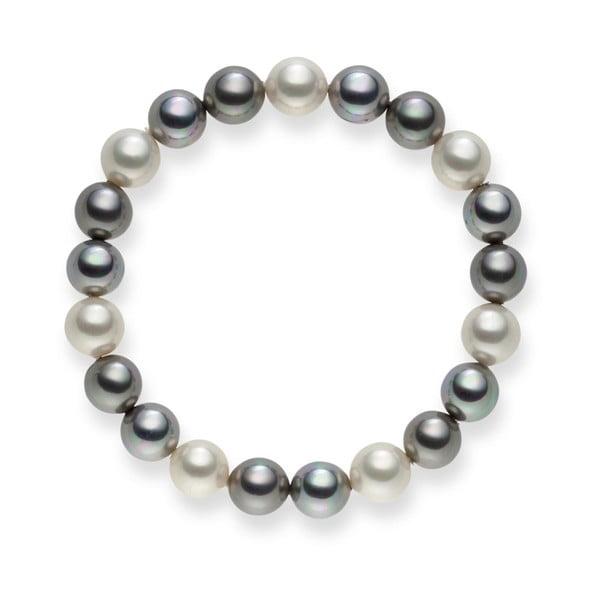 Perlový náramek Nova Pearls Copenhagen Íáson, 21 cm
