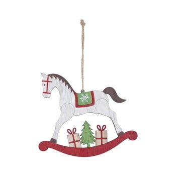 Decorațiune suspendată pentru bradul de Crăciun Ego Dekor Misto Horse imagine
