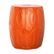 Keramický stolek Fiona Orange