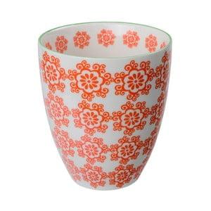 Porcelánový šálek Teacup Red, 8,7x9,8 cm