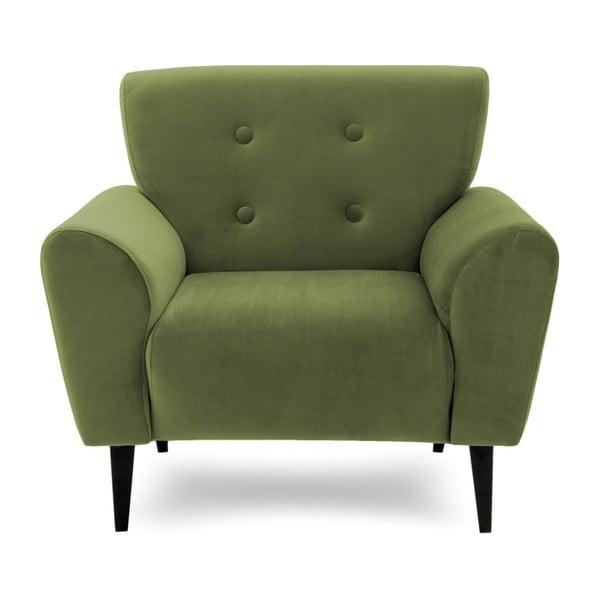 Oliwkowy fotel Vivonita Kiara