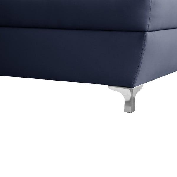 Modrá pohovka Modernist Cardigan, pravý roh