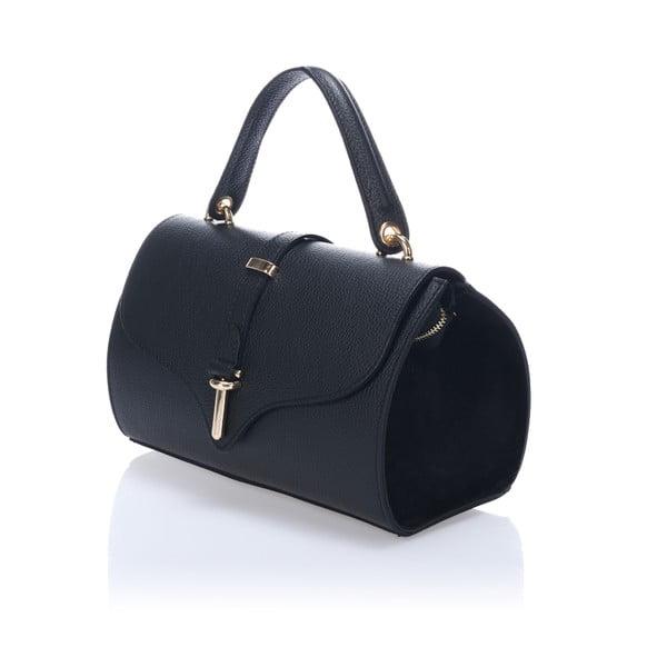 Černá kožená kabelka Markese Genoveffa