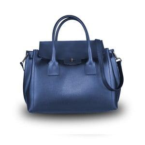 Modrá kabelka z pravé kůže JOHN FISH Bluette