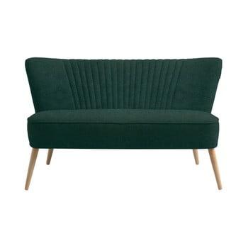 Canapea cu 2 locuri Custom Form Harry, verde închis de la Custom Form