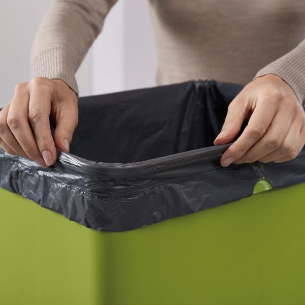 Koše na tříděný odpad Intelligent Waste Totem 50, grafitová šedá