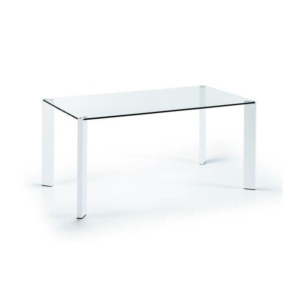 Jídelní stůl Corner, 160x90cm, bílé nohy