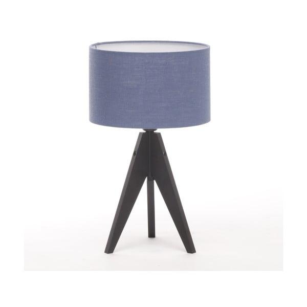 Stolní lampa Arist Cylinder Dark Blue/Black