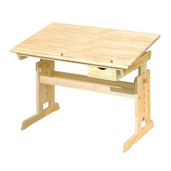 Nastavitelný dřevěný psací stůl 13Casa Paint