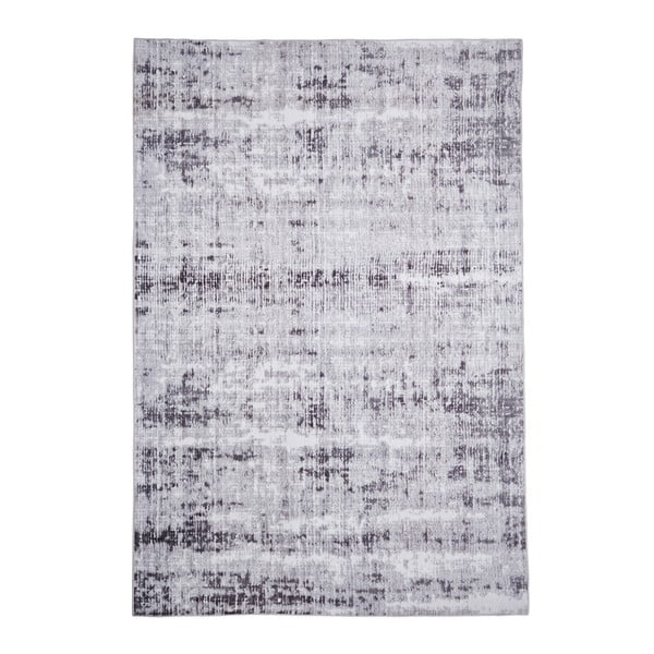 Covor Floorita Abstract Grey, 80 x 150 cm, gri