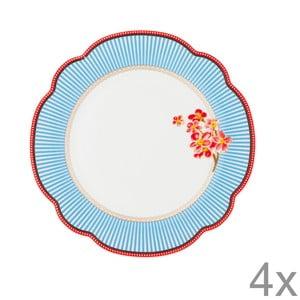 Porcelánový talíř Seaside od Lisbeth Dahl, 19 cm, 4 ks