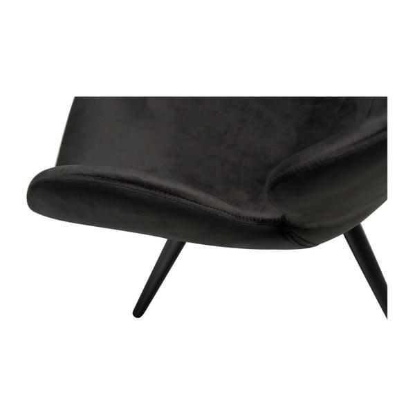 Černá židle DAN-FORM Denmark Gaia