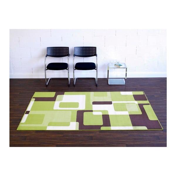 Zelený koberec Hanse Home Hamla Retro, 200 x 290 cm