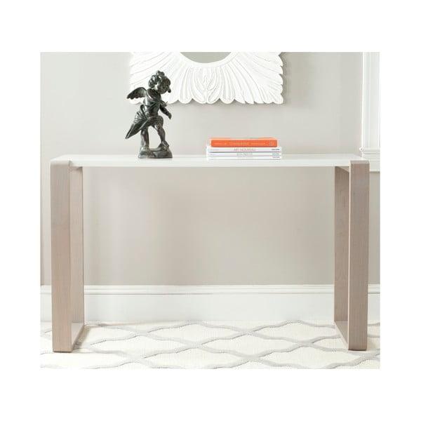 Konzolový stůl Bartholomew, světlé nohy