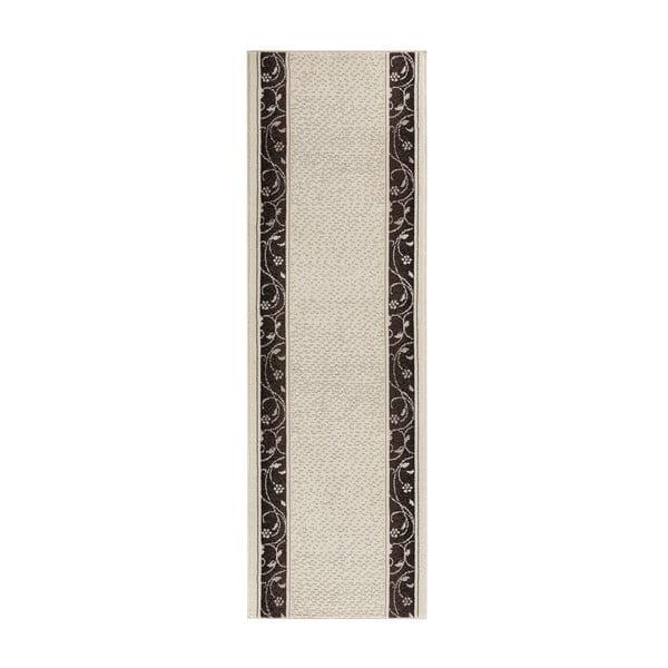 Koberec Basic Elegance, 80x500 cm, krémový