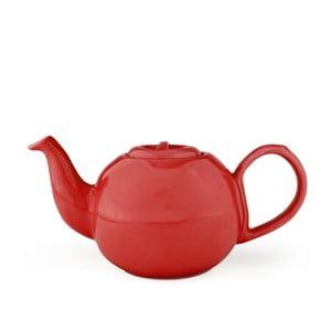 Červená konvice se sítkem na sypaný čaj Bredemeijer Cosette, 1,3 l