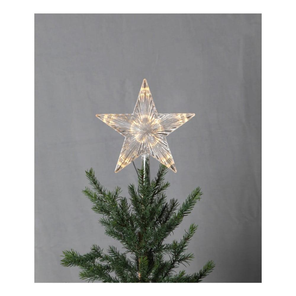 LED svítící špička na stromek Best Season Topsy, výška 24 cm
